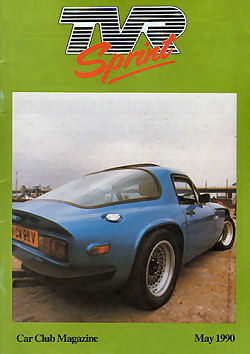TVR Sprint Magazine - May 1990